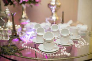 Virtual Tea Party on Over 50 Feeling 40