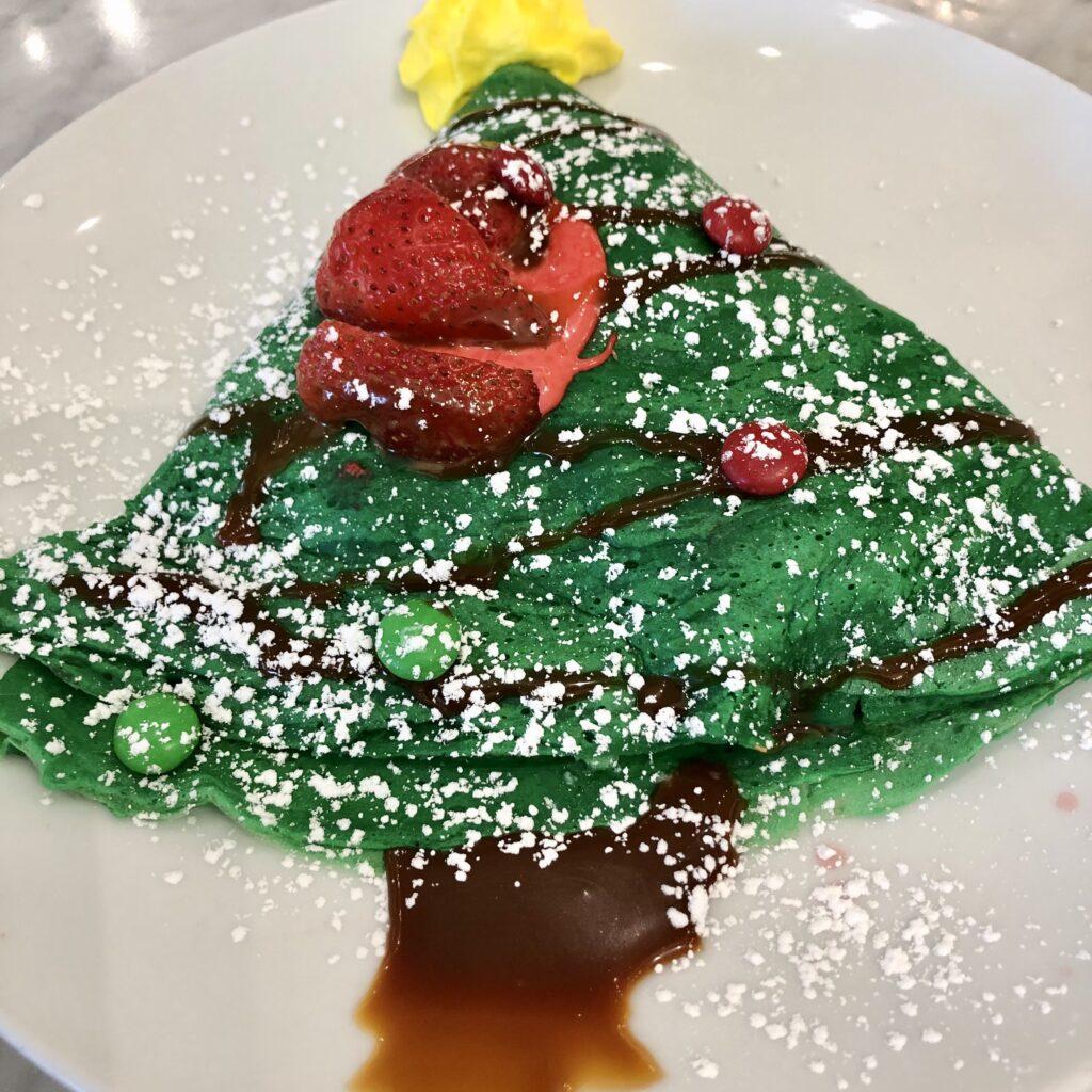 Holiday sweet crepes at The Shops at La Cantera