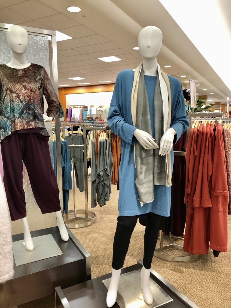 Fall clothing at Dillards on over 50 feeling 40