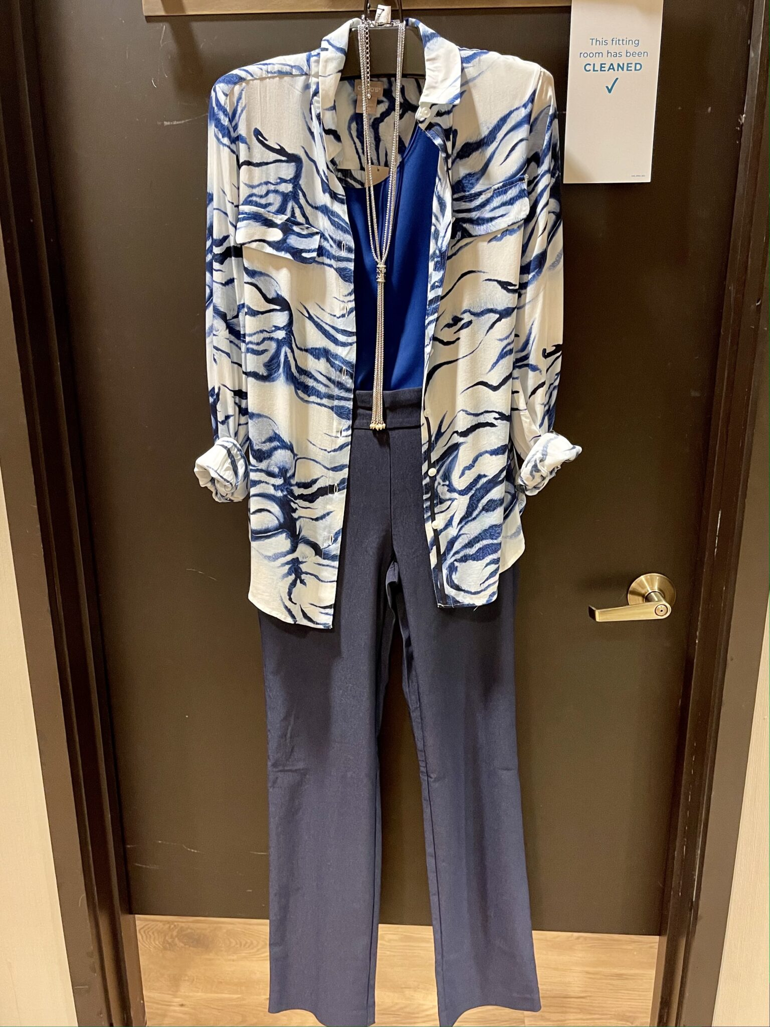 Wardrobe transition ideas at Chicos from professional to retired life