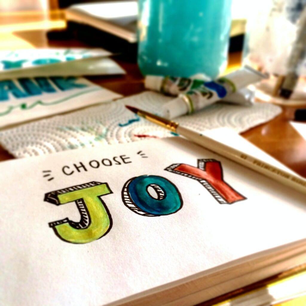 Choose Joy for a cozy life