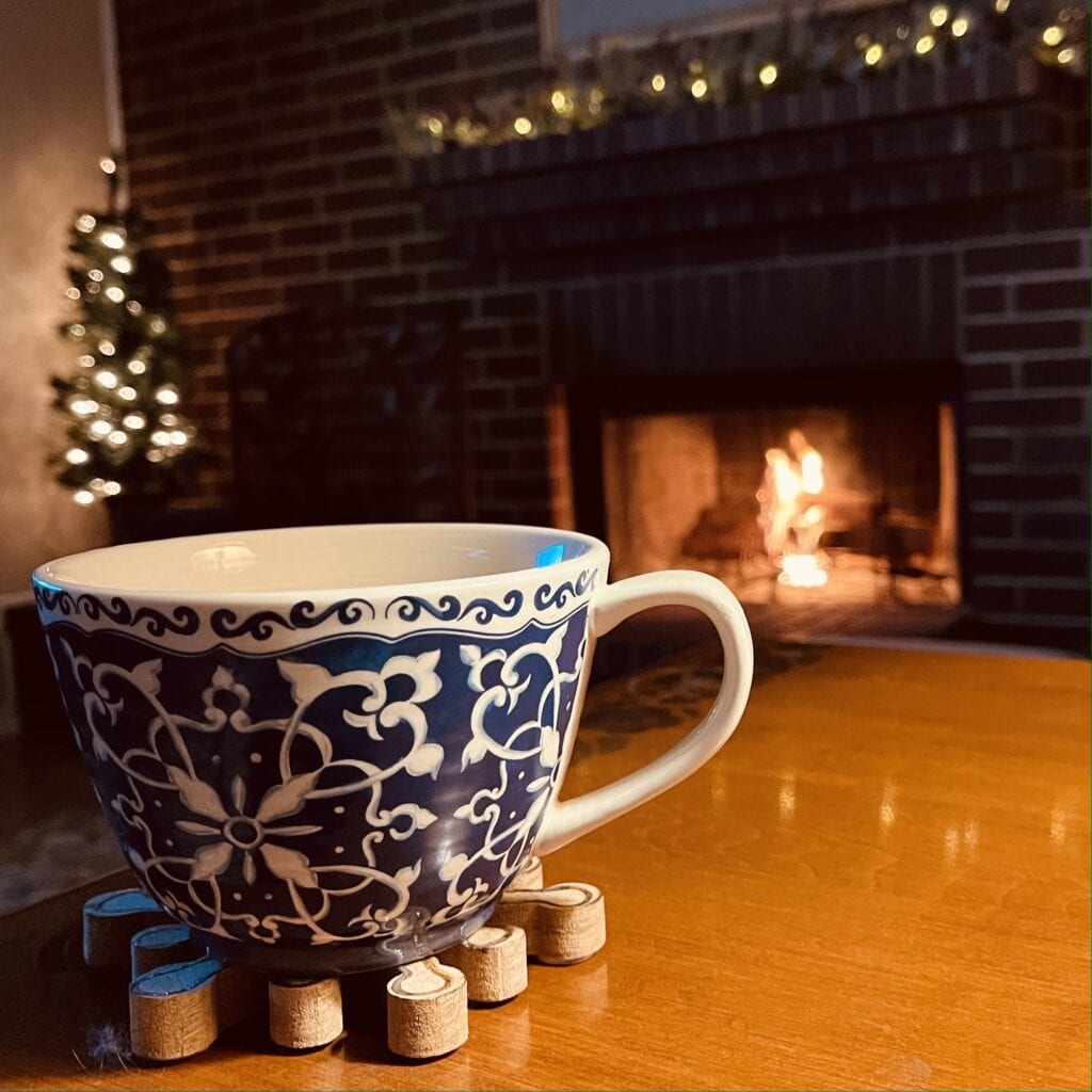 Hygge Cozy home lifestyle on over 50 feeling 40
