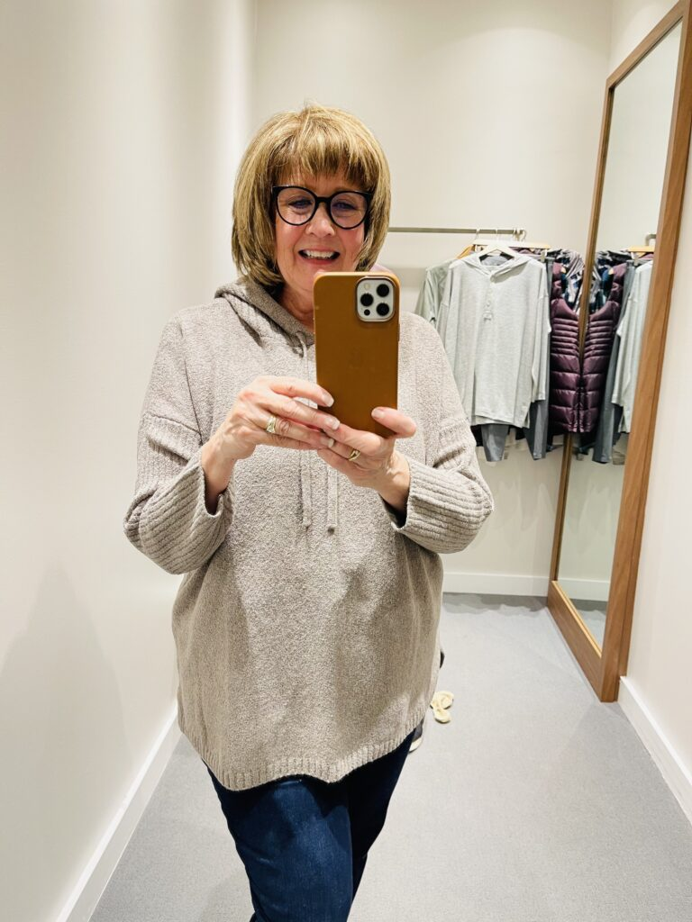 Pamela Lutrell shops JJill for transition to new life-style away from professional world