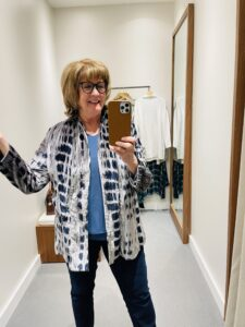 A shopping hit at JJill on Over 50 Feeling 40