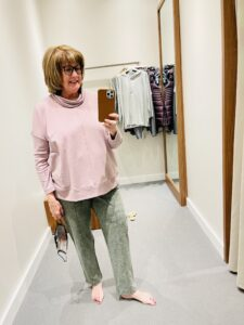 Relaxed Knit Pants at JJill are a miss on Over 50 Feeling 40