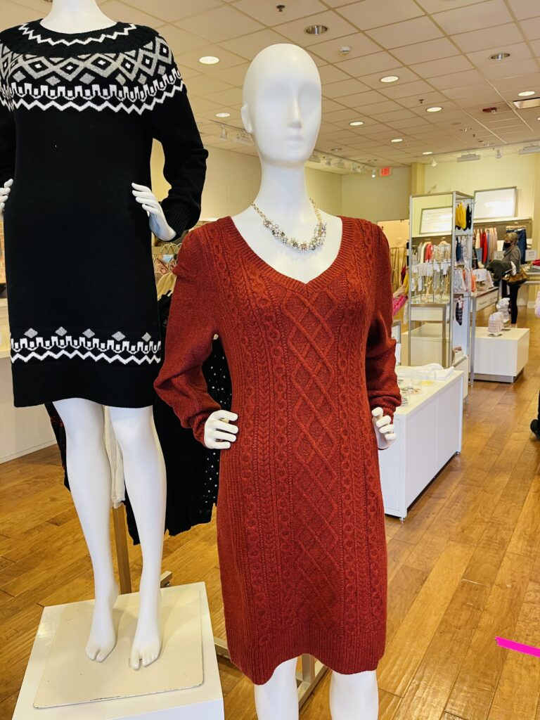 Would You Wear This Sweater Dress On Over 50 Feeling 40
