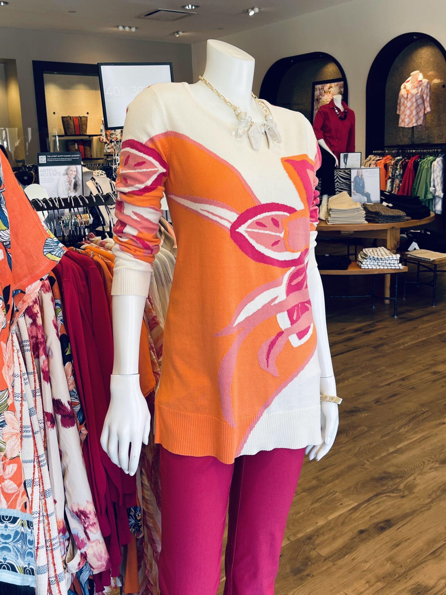 Would You Wear It Springtime Orange