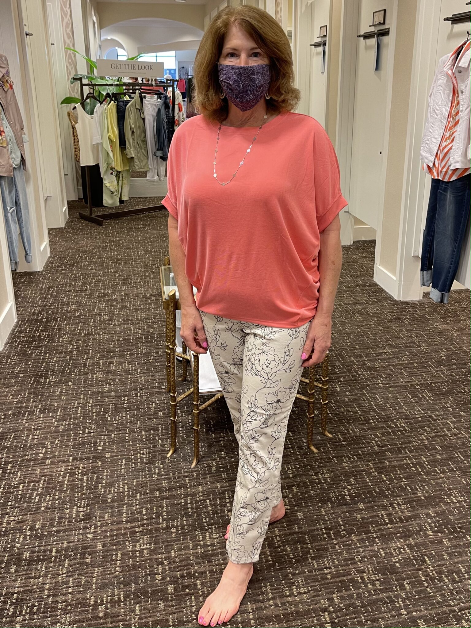 Shopping Chico's with Leigh and Me