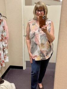 Shopping JCP with Leigh and me