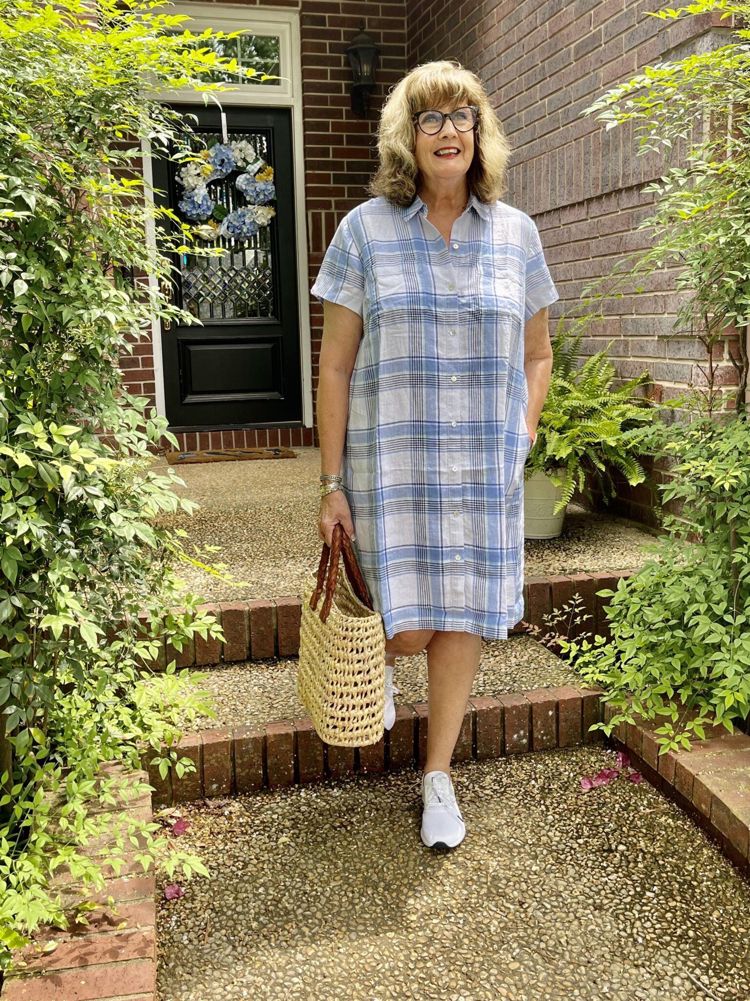 Linen Dresses for an easy, cool summer
