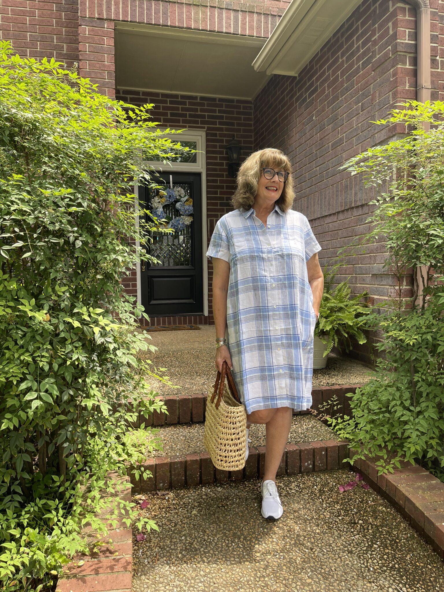 Linen Dresses for an easy cool summer
