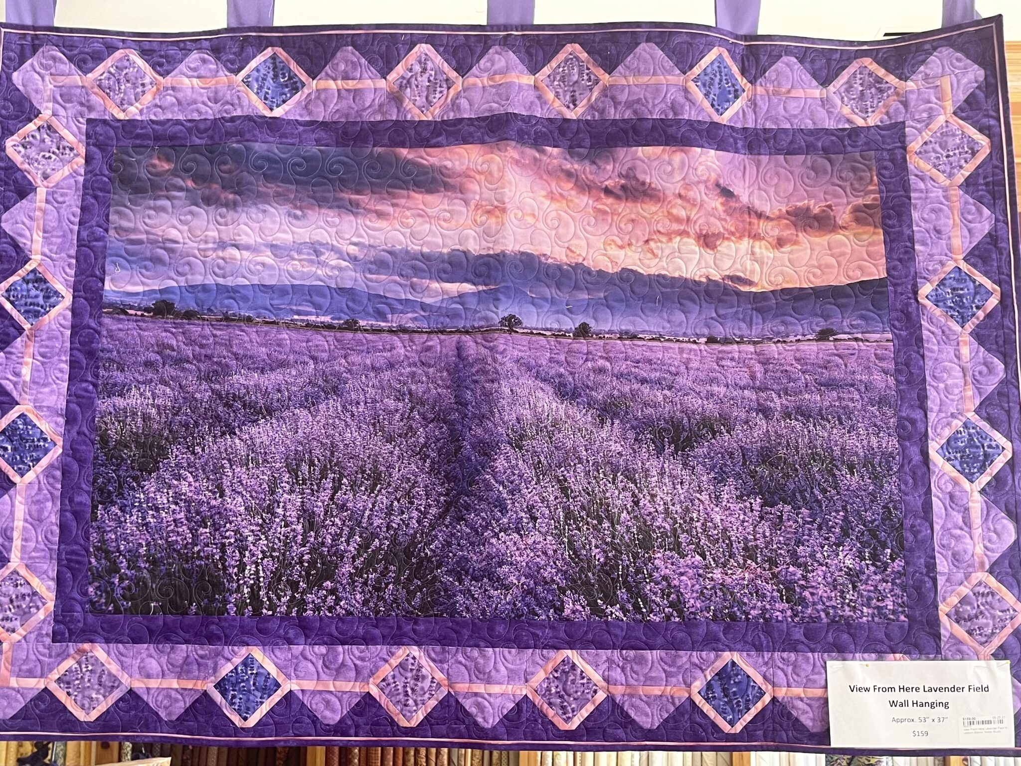 Leigh & Me at the BLanco Lavender Festival