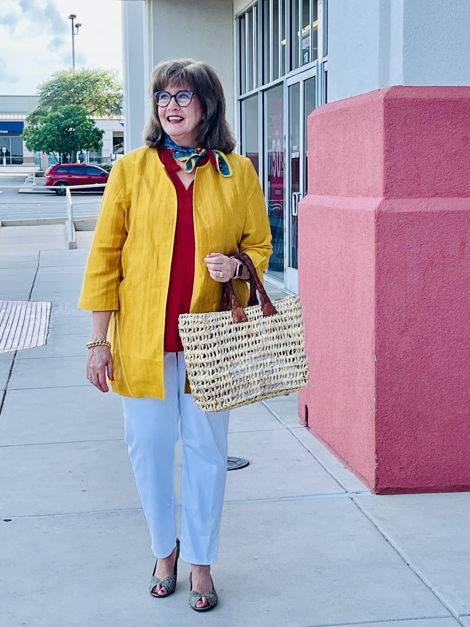 Chico's offers color and a big sale!