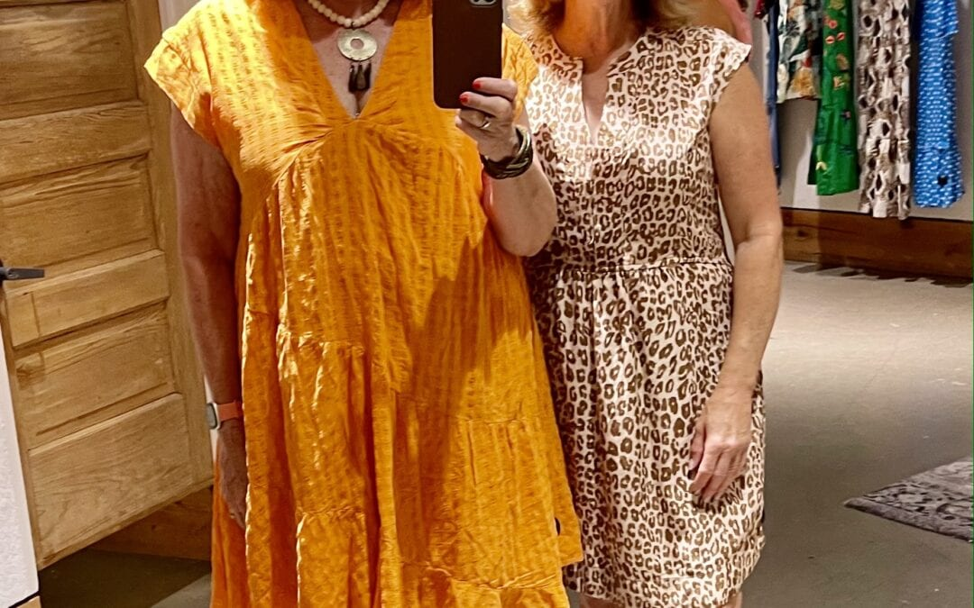 Shopping Anthropologie with Leigh & Me