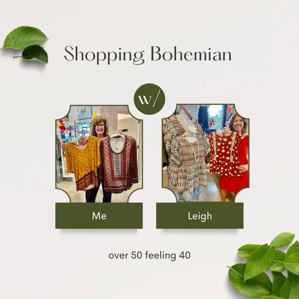 Shopping Bohemian with Leigh & Me