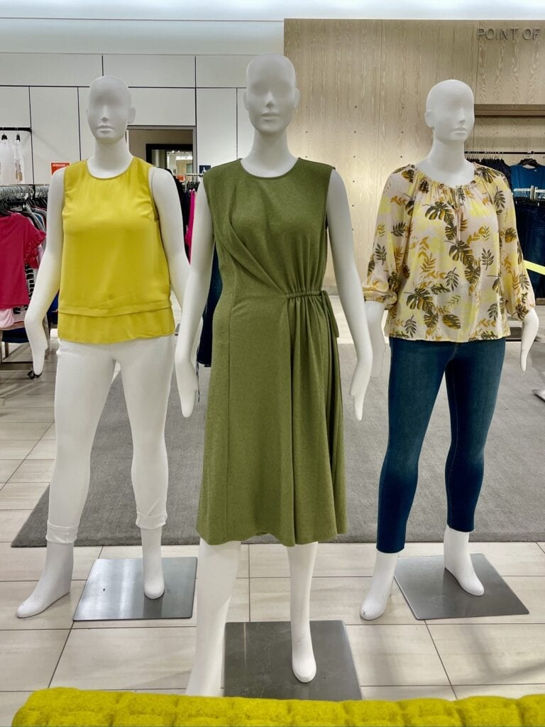 Would You Wear It - Yellows and Greens