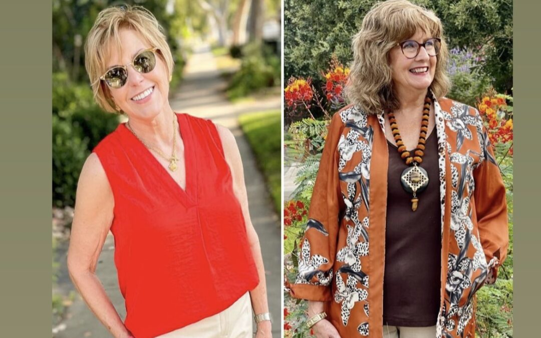A live chat with Susan & me about color & reinvented style