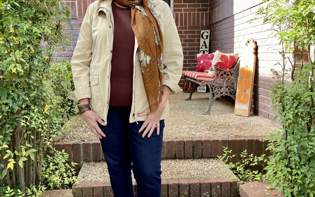 Fall preparations with Talbot's jacket #3