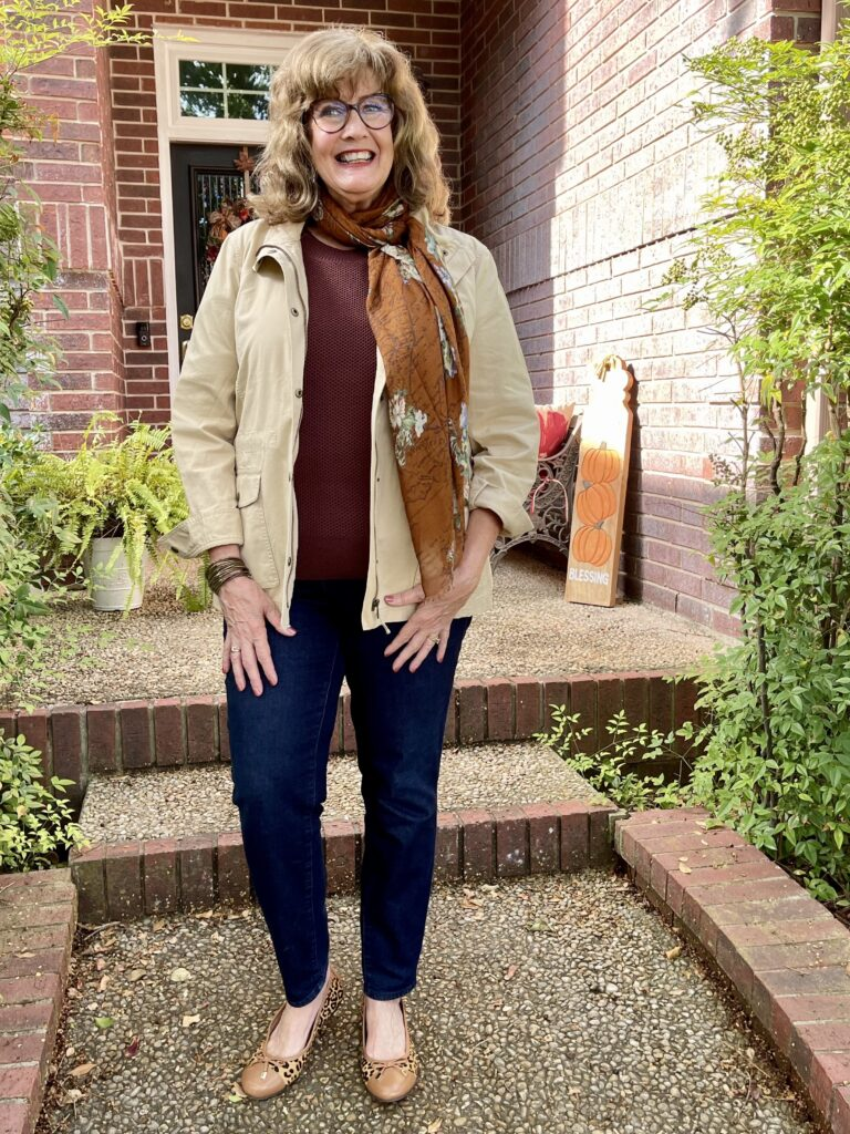 Fall preparations with Talbots jacket #3