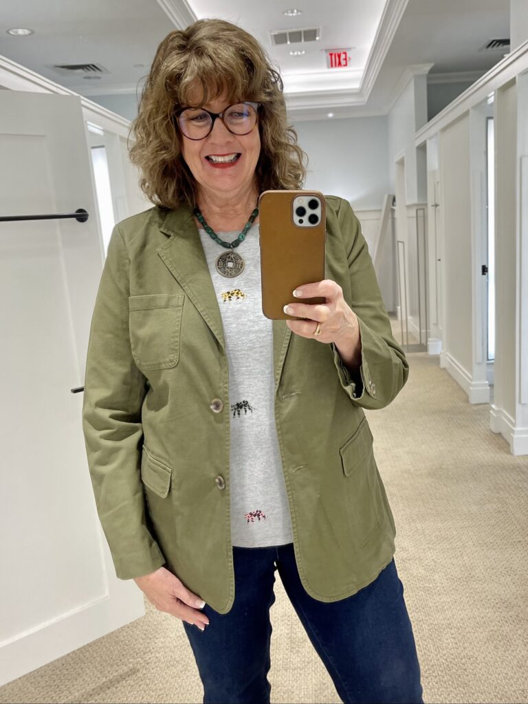 Shopping Talbots with Leigh & Me