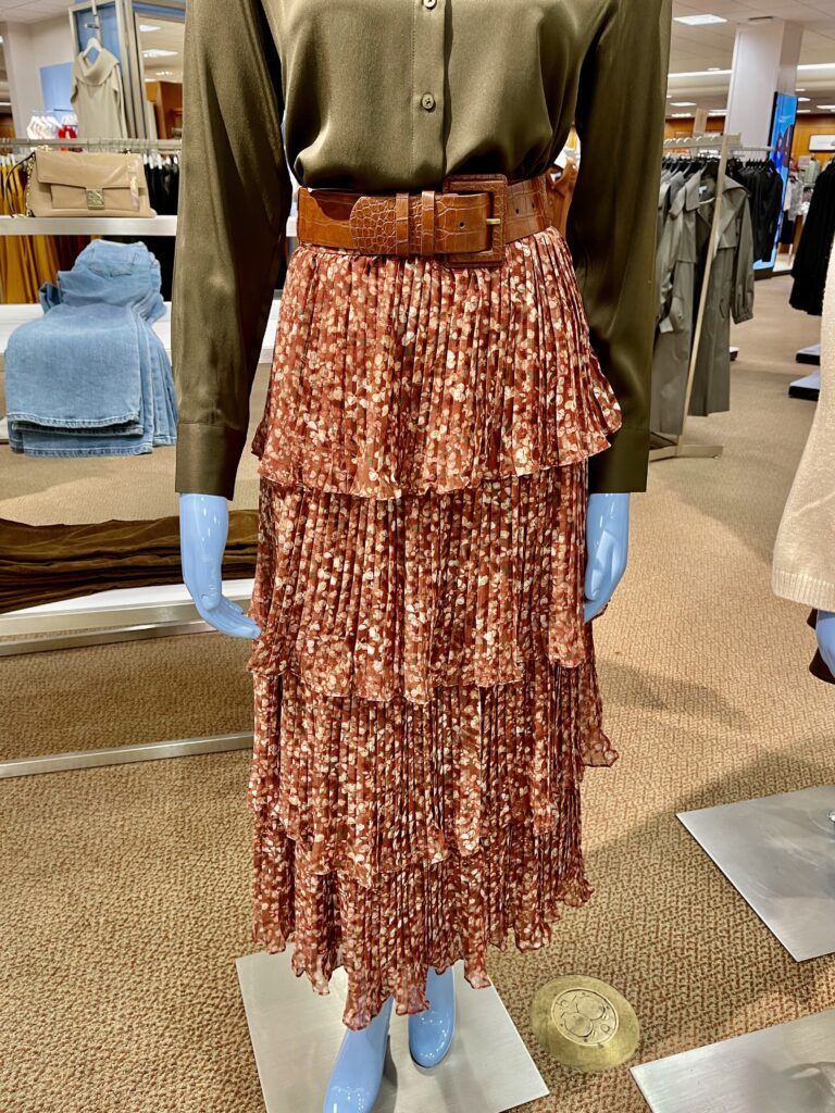 Would you Wear It - Fall Tiered Skirt (and a pie0