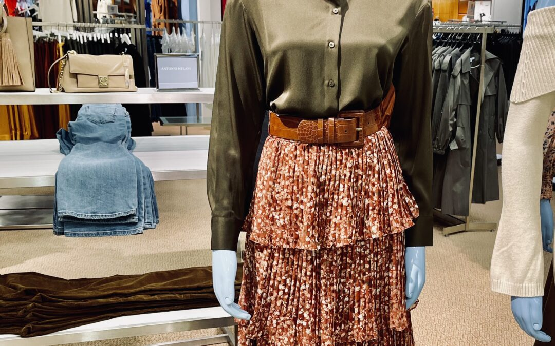 Would You Wear It – Fall Tiered Skirt (and a pie!)