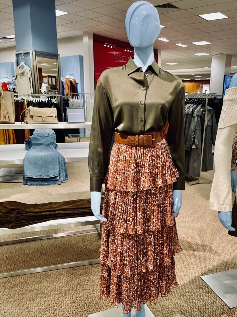 Would You Wear It - Fall Tiered Skirt (and a pie)