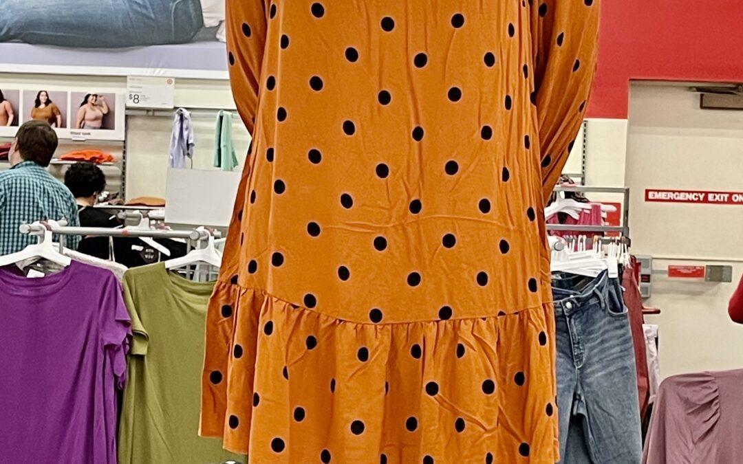 Would You Wear It – Orange & Black