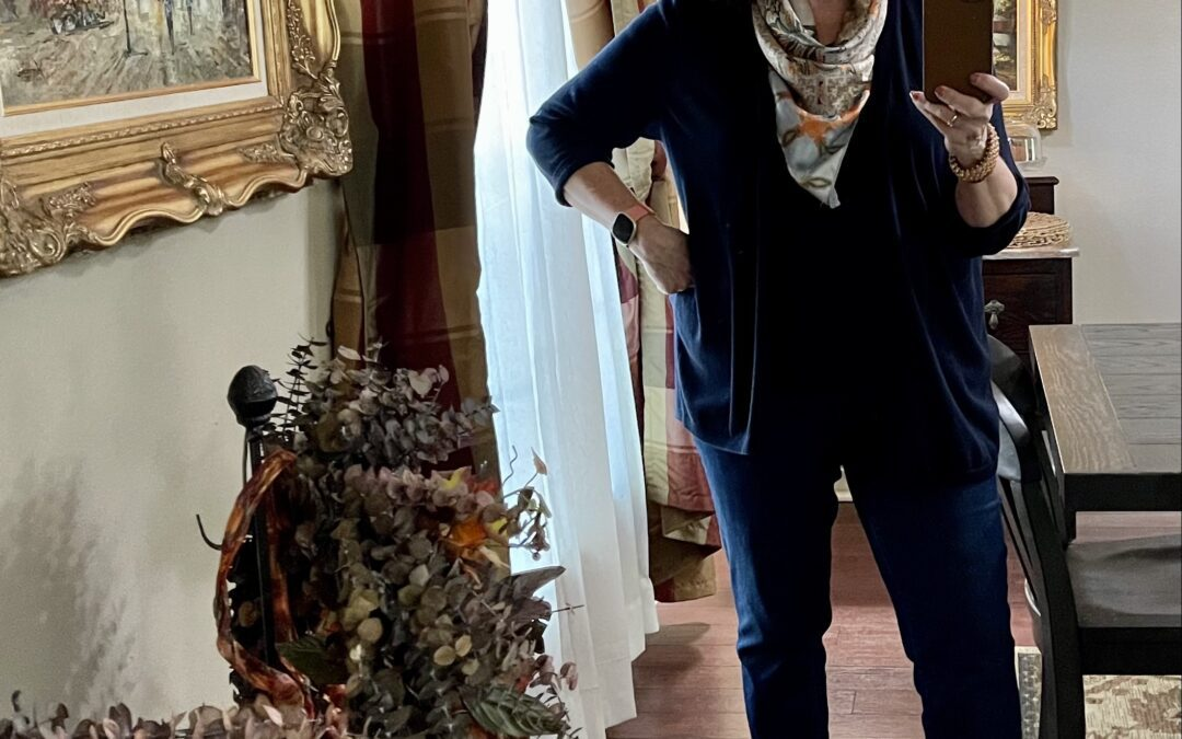 Closet Dive: A navy fall outfit