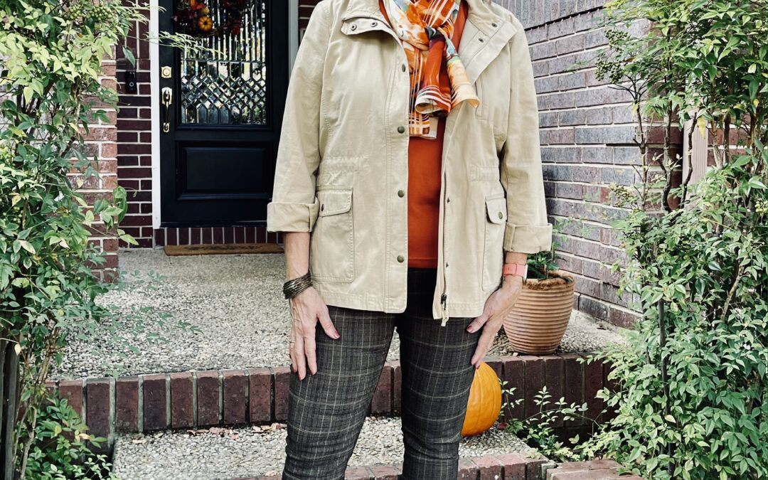 Fall outfit with fit, color, and style