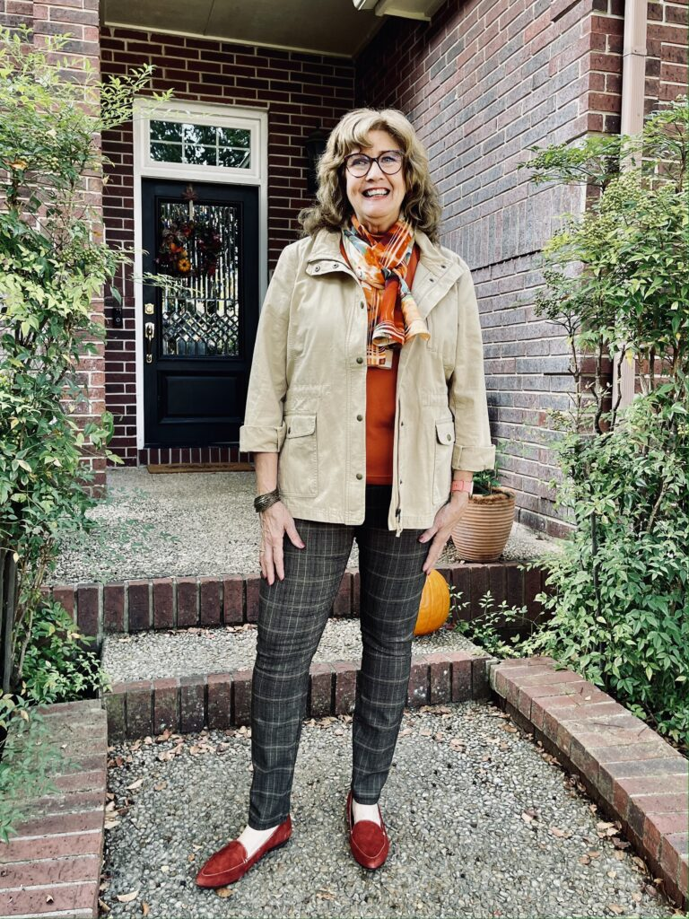 Fall outfit with fit, color and style